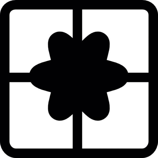 Caja de regalo de la vista superior descargar iconos gratis - Regalos para la vista ...