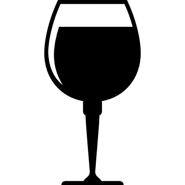 Copa de vino llena de bebida descargar iconos gratis for Imagenes de copas brindando
