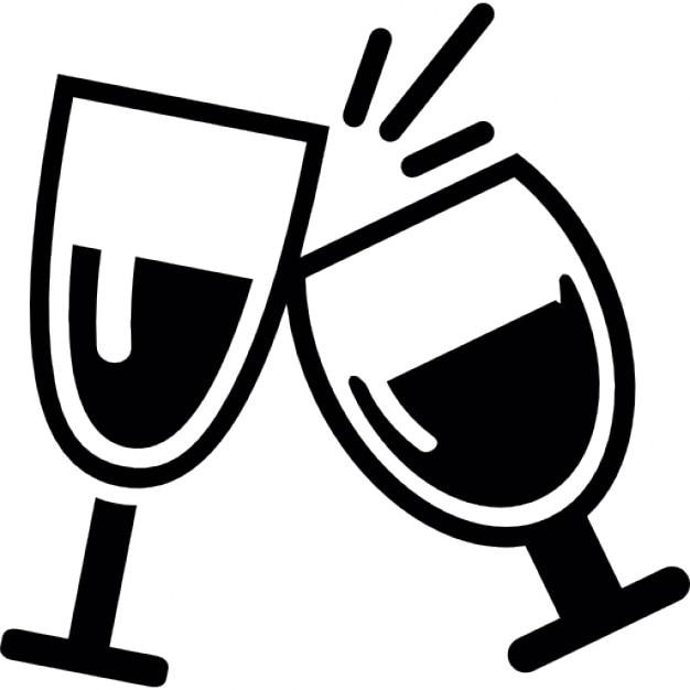 Copas de vino descargar iconos gratis for Imagenes de copas brindando