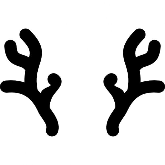 cuernos de reno de la navidad descargar iconos gratis
