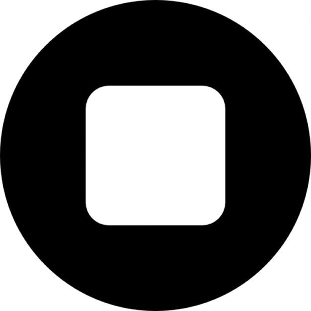 Detener bot n jugador descargar iconos gratis for Icono boton