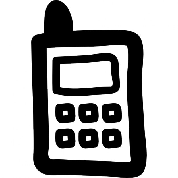 Dibujo de teléfono celular  Descargar Iconos gratis