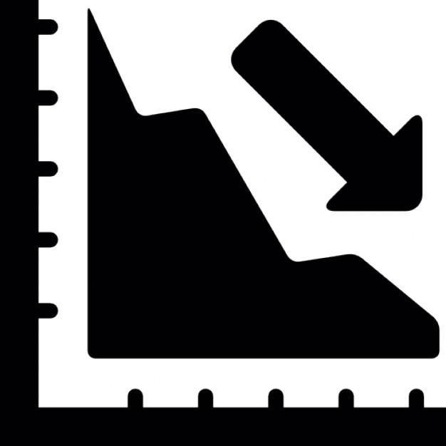 Disminuir en tabla de progreso   Descargar Iconos gratis