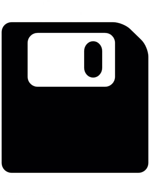 Disquete, guardar símbolo de interfaz | Descargar Iconos gratis