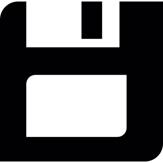 Disquete guardar símbolo interfaz | Descargar Iconos gratis