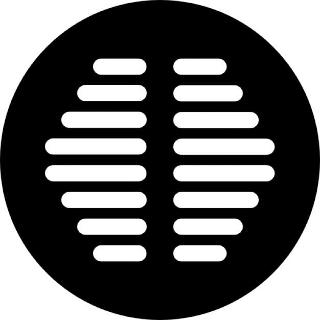Drenaje baño de forma circular | Descargar Iconos gratis