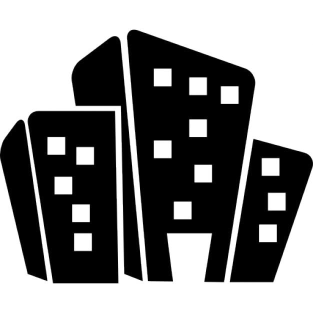 Edificios de dibujos animados | Descargar Iconos gratis
