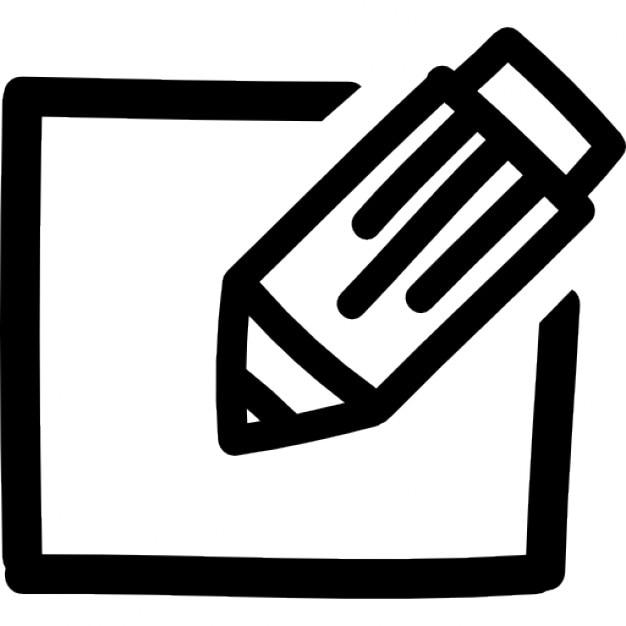 Editar dibujado a mano s mbolo interfaz descargar iconos for Logos para editar