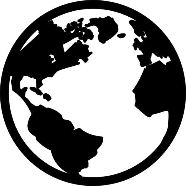 El planeta tierra Icono Gratis