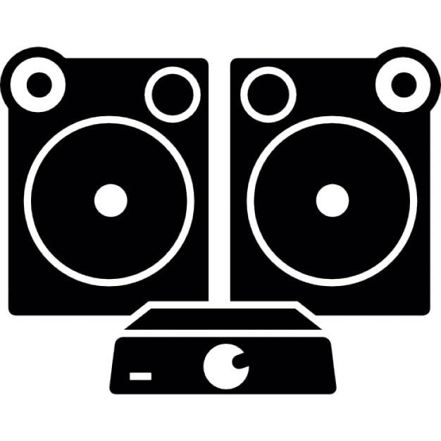 Equipos de audio para el hogar descargar iconos gratis - Equipo musica casa ...