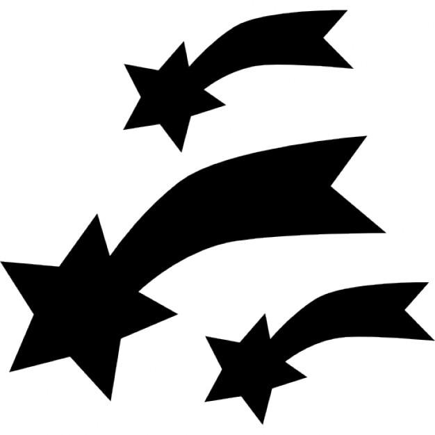 Estrellas fugaces | Descargar Iconos gratis