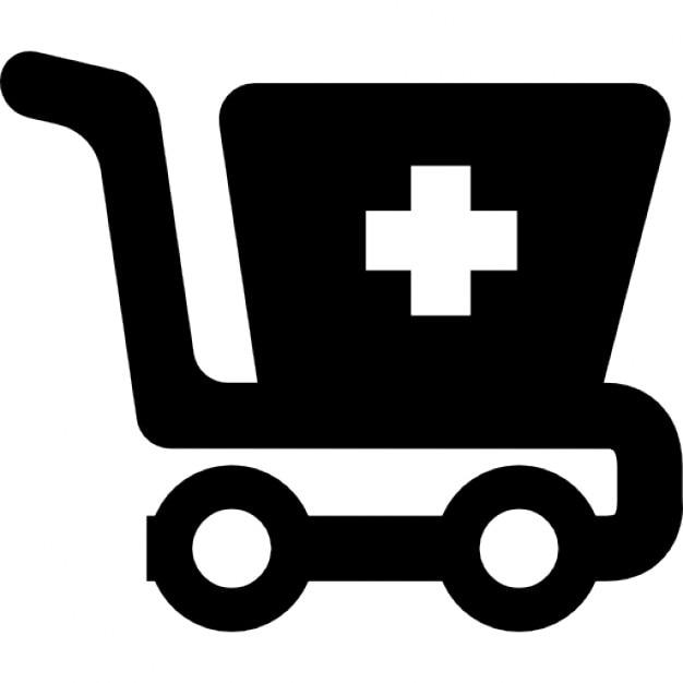 Farmacia carrito de la compra descargar iconos gratis - Carrito dela compra ...