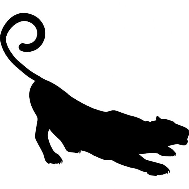 forma de pantera descargar iconos gratis Panther Clip Art Black and White Black Panther Coloring Pages