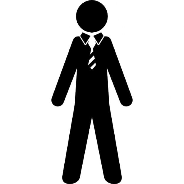 Traje y corbata sexo de la oficina