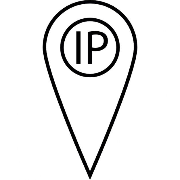 ip punto de localizador de direcciones descargar iconos