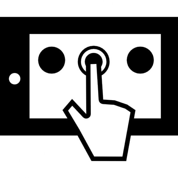 Ipad bot n t ctil descargar iconos gratis for Icono boton