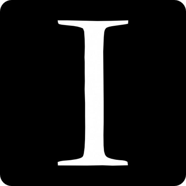 Letra mayúscula en un cuadrado redondeado | Descargar Iconos gratis