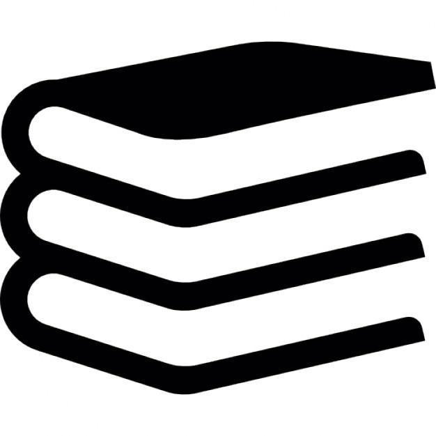 Librer a de libros apilados descargar iconos gratis for Logotipos de bibliotecas