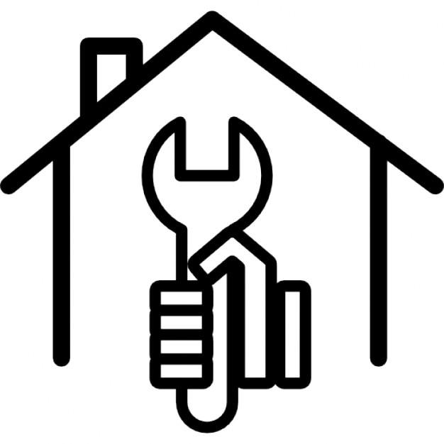 Llave en mano dentro de una casa descargar iconos gratis for Casas llave en mano