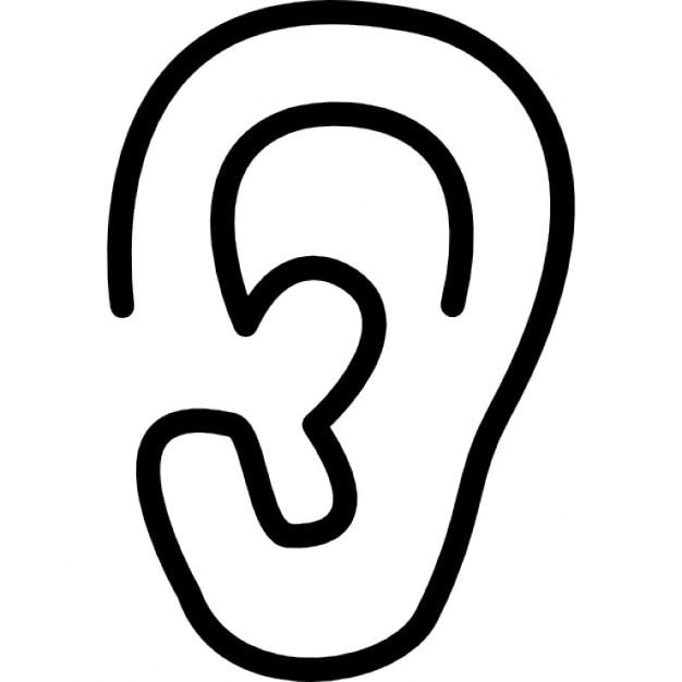 Resultado de imagen de oreja dibujo