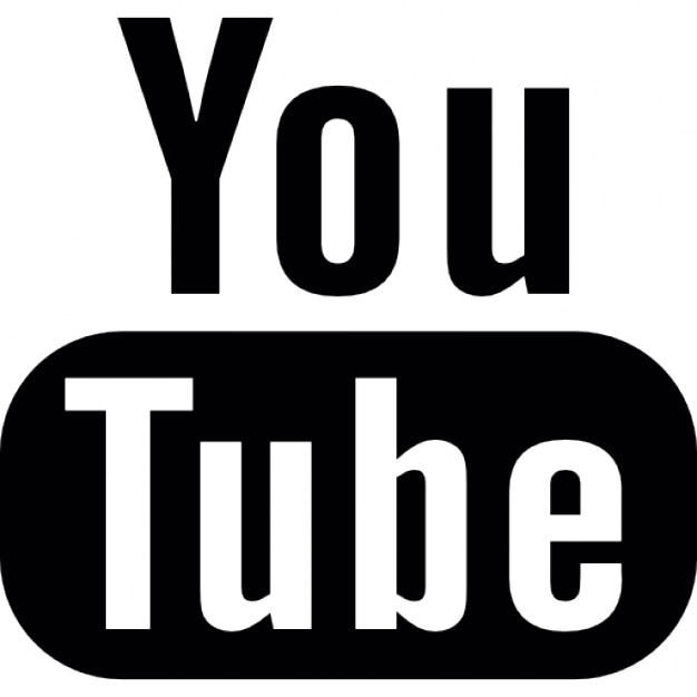 Youtube icon, link will be opened in a new tab