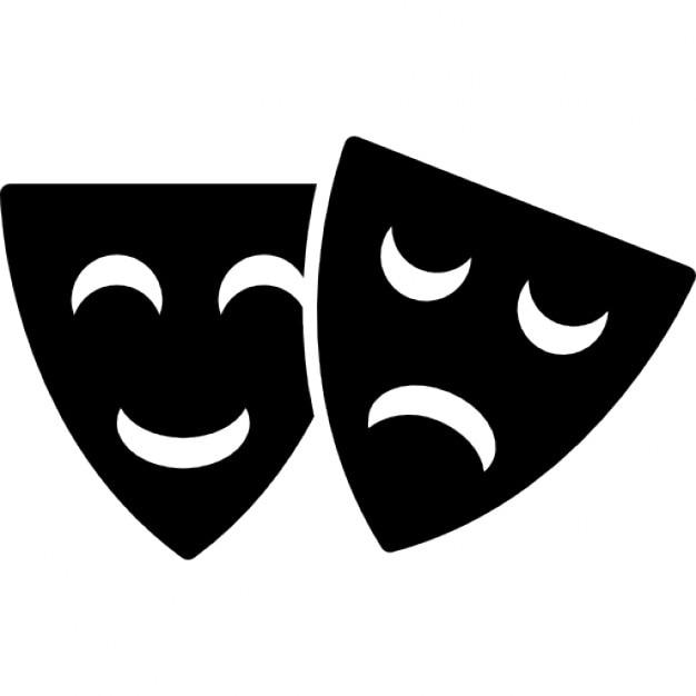m225scaras felices y tristes de teatro descargar iconos gratis