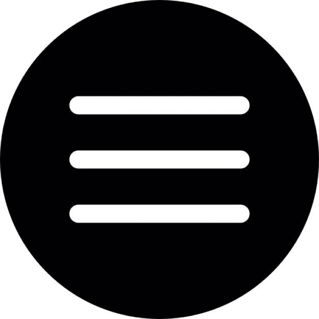 Men del bot n circular descargar iconos gratis for Icono boton