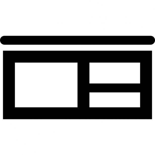 Mueble rack de sal n descargar iconos gratis for Mueble vector