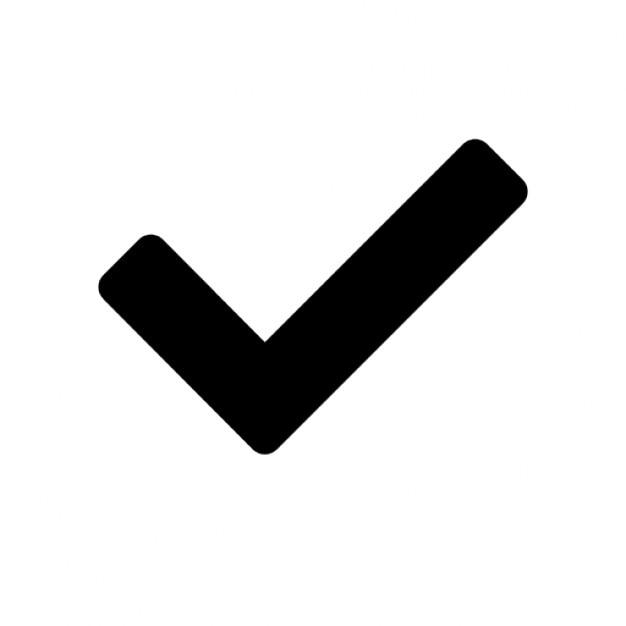 Okay signo vector icono gratuito
