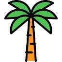palmera Icono Gratis