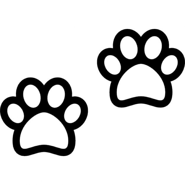 Patas de los perros | Descargar Iconos gratis