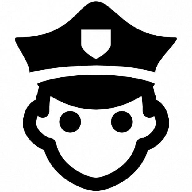 Policía Icono Gratis