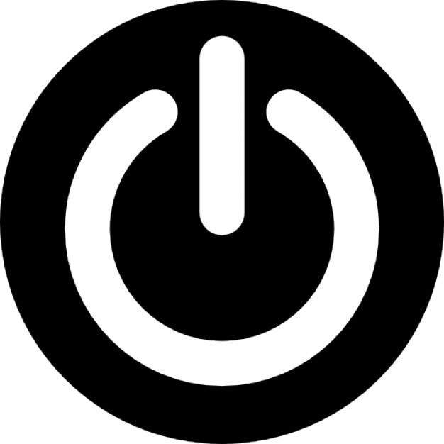 Potencia bot n circular descargar iconos gratis for Icono boton