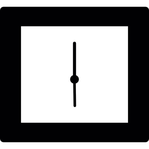Reloj de pared cuadrado descargar iconos gratis for Plafones cuadrados de pared