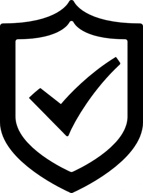 Seguridad verificada icono gratuito