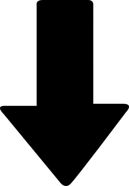 Resultado de imagen para flecha hacia abajo