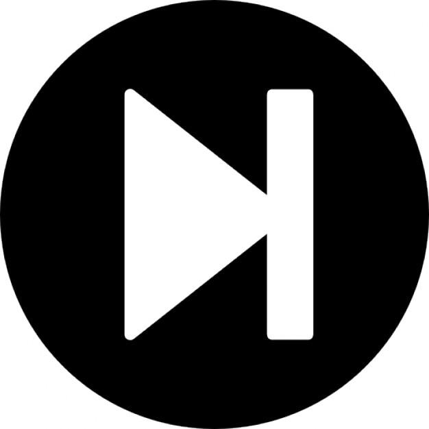 Siguiente bot n de la pista descargar iconos gratis for Icono boton