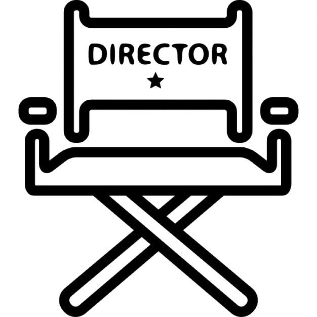 Silla de director de cine descargar iconos gratis - Sillas de director ...