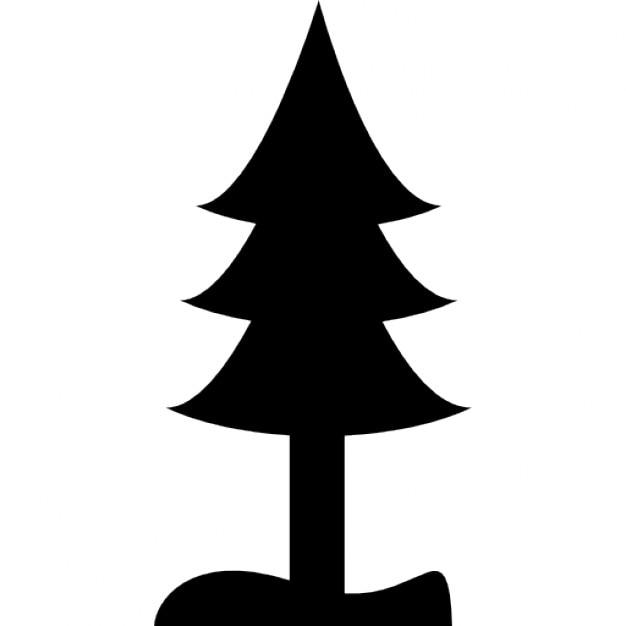 Silueta Del Arbol De Pino_743909 on Simple Pine Tree Clip Art