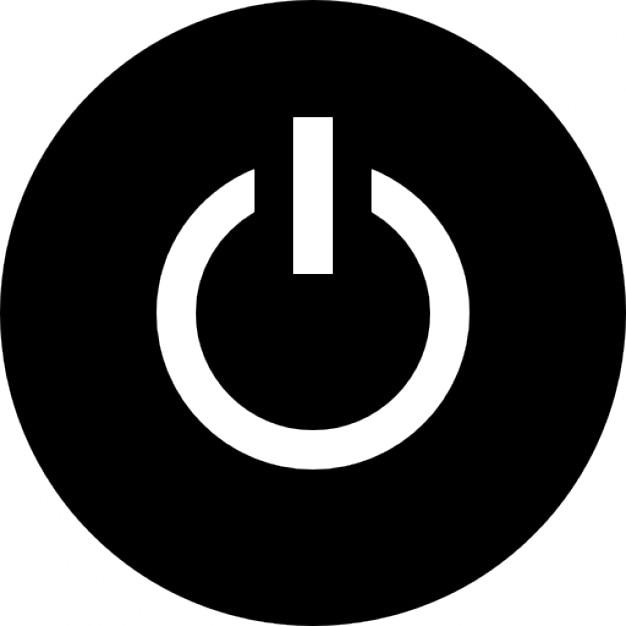 S mbolo bot n de encendido descargar iconos gratis for Icono boton