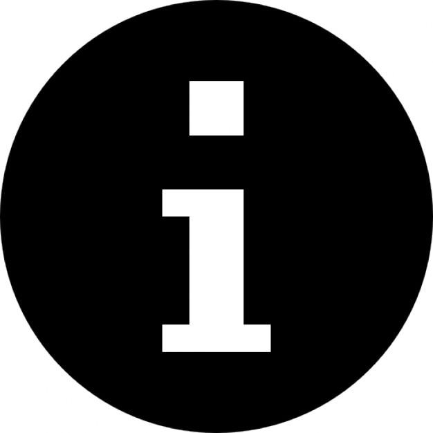 Símbolo de información Icono Gratis