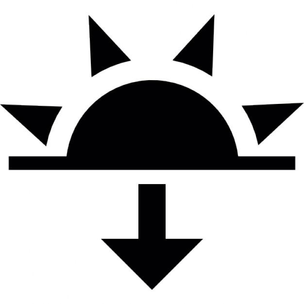 Puesta sol hora fotos y vectores gratis for Hora puerta del sol
