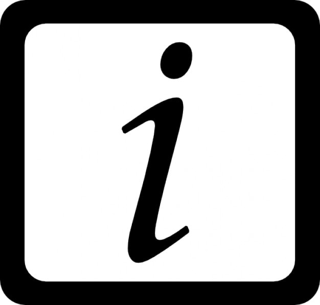 Símbolo letra cursiva en un cuadrado redondeado | Descargar Iconos ...