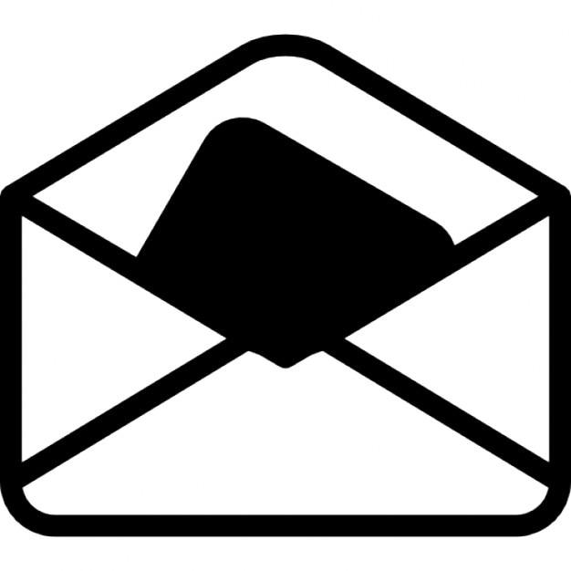 sobre abierto descargar iconos gratis email icon vector free free vector email icon