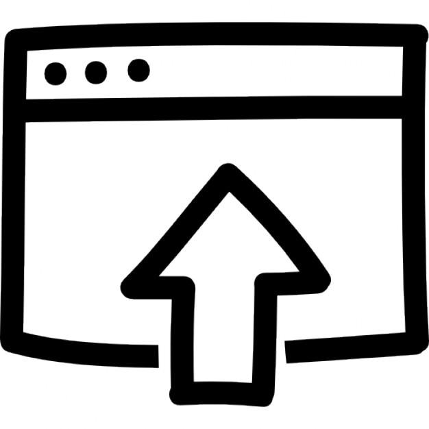 dd9cd17949c0b Subir el archivo símbolo dibujado a mano de interfaz Icono Gratis