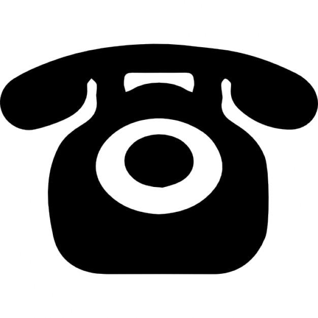 Teléfono en la versión de la vendimia Icono Gratis