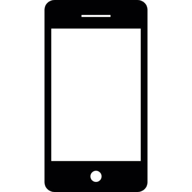 Resultado de imagen de silueta telefono movil