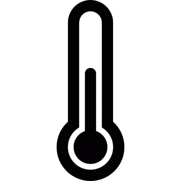 Resultado de imagen para termometro icon black