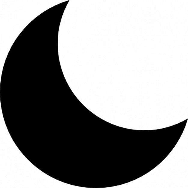 Última fase de la cuarta luna | Descargar Iconos gratis