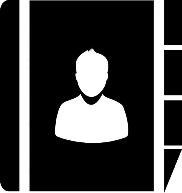 Una libreta de direcciones | Descargar Iconos gratis